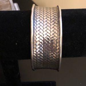 Heavy Woven Silpada Award Cuff Bracelet